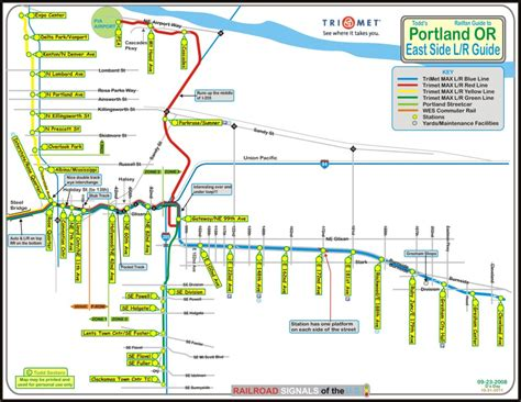 trimet max map portland or transit guide max light rail east side