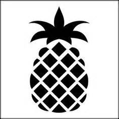 pineapple stencil on pinterest stencil folk art and