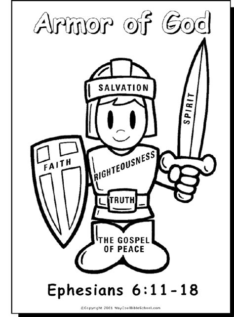 armor of god coloring pages armor of god coloring page coloring pages
