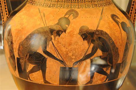 vasi greci a figure nere ceramica a figure nere