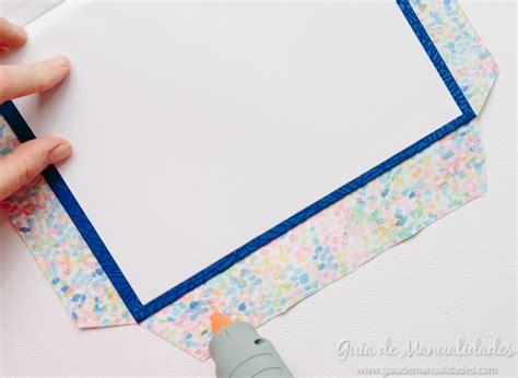 cuadernos decorados de tela cuadernos decorados con tela