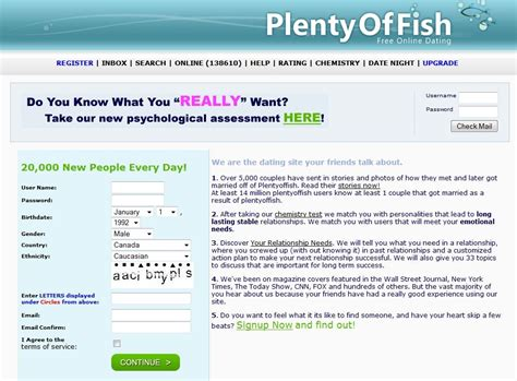 Plenty Of Fish Search Archives Macrosokol