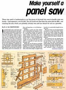 Diy Table Saw Stand Diy Vertical Panel Saw Woodarchivist