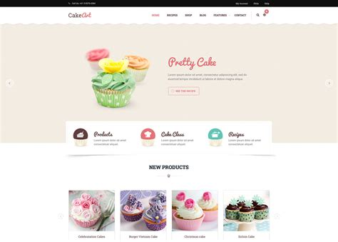 20 best wordpress themes for bakeries amp coffee shops 2017