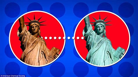 what color was the statue of liberty the statue of liberty was before it turned green