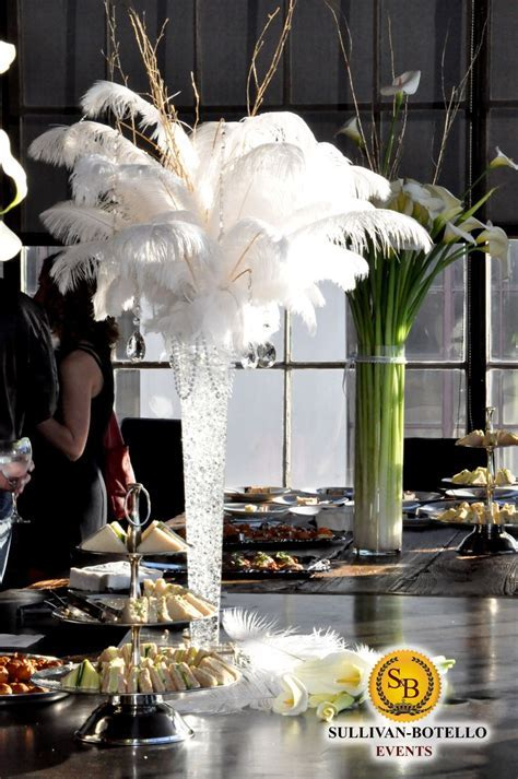 Centerpieces by Sullivan Botello Events   The Great Gatsby