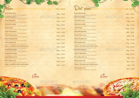 design a menu card 9 restaurant menu designs free psd vector ai eps