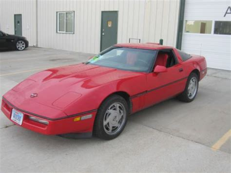 car manuals free online 1989 chevrolet corvette transmission control buy used 1989 corvette c4 6 speed 67000 miles red 5 7 liter v8 6 speed manual trans in lincoln