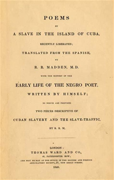 boat written in spanish juan francisco manzano 1797 1854 poems by a slave in the