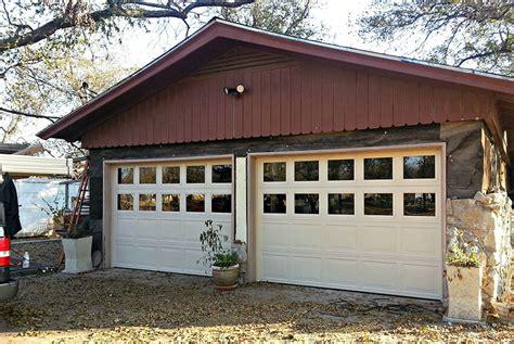 8 Diy Garage Door Updates To Increase Curb Appeal Adding Windows To Garage Door