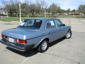1985 Mercedes 300d Sell Used 1985 Mercedes 300d Turbodiesel Sedan In