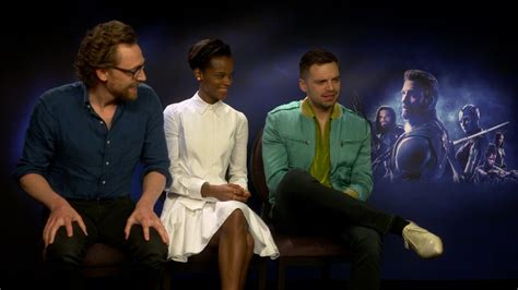 letitia wright tom hiddleston vengadores infinity war entrevista exclusiva a tom