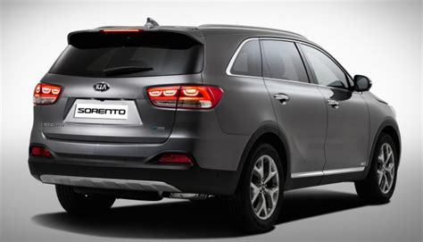 Kia Sorento New Model 2015 Kia Sorento Official Photos Of The Third Suv