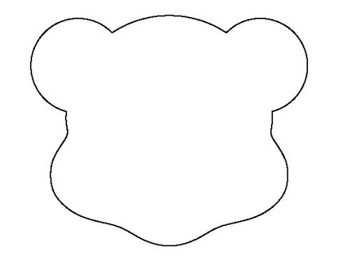 make your own teddy template 17 best ideas about teddy template on