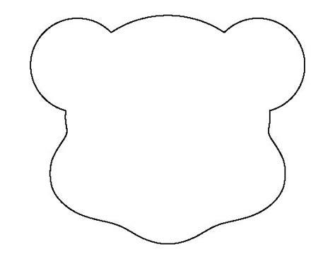 printable head templates polar bear head template www imgkid com the image kid