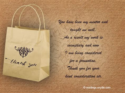 Thank You Note For Gift Card From Boss - thank you note to boss dimonit tk