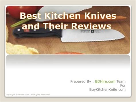 reviews of kitchen knives best kitchen knives and their reviews