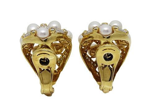 Of Pearl Yellow Earrings pearl yellow gold earrings world s best