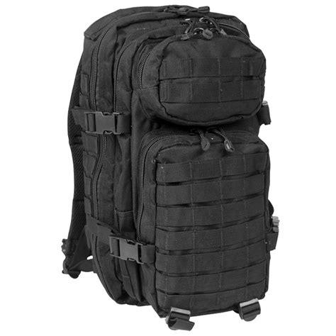 black molle backpack mil tec molle us assault pack small black backpacks