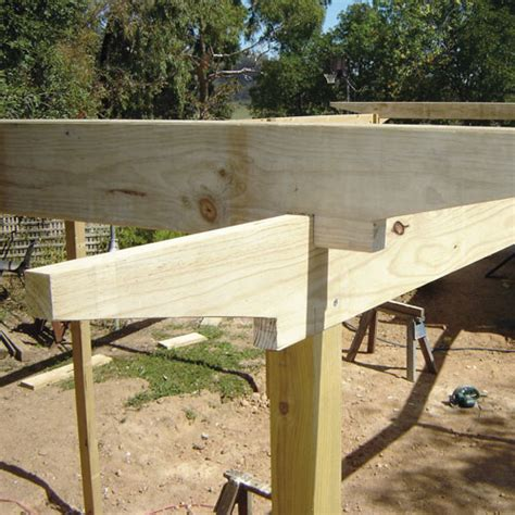 How To Build The Ultimate Resort Style Pergola Pergola Rafter Ends