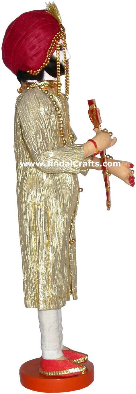Handmade Indian - handmade traditional indian collectible costume doll home