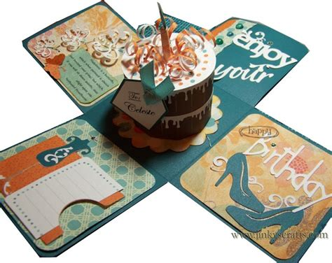 how to make an exploding box card 10 best images about exploding box tutorial on