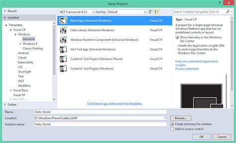 windows 10 getting started tutorial 7 how to test first windows 10 uwp app