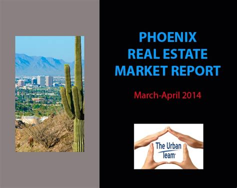 phoenix housing market phoenix real estate market update march april 2014 the caniglia group realty
