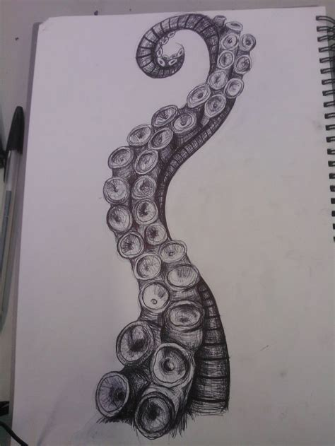 tentacle tattoo 25 best ideas about on kraken