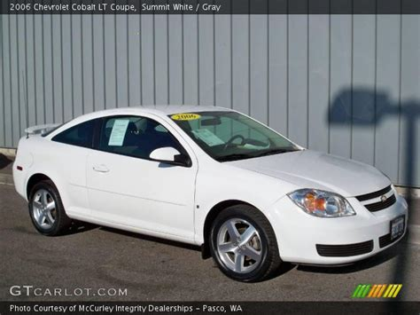 summit white  chevrolet cobalt lt coupe gray
