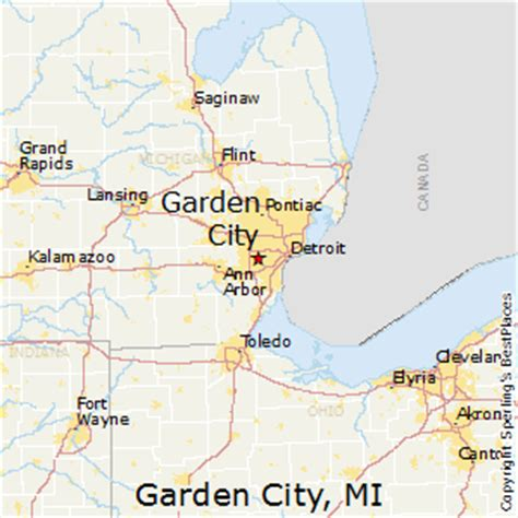 Garden City Map Best Places To Live In Garden City Michigan