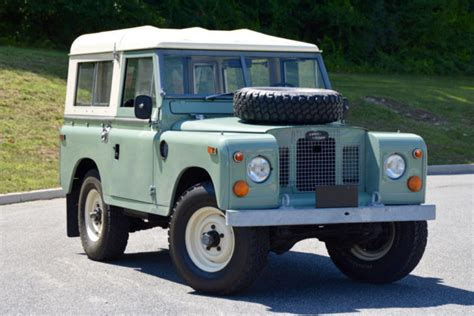 1970 land rover for sale 1970 land rover series ii 88 price lowered for sale