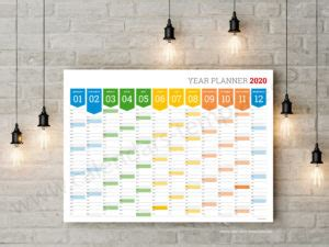 calendars  planners templates yearly monthly weekly calendars