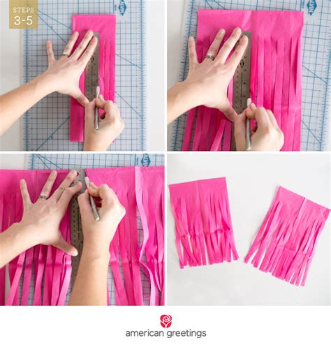 How To Make Tissue Paper Tassels - diy tassel garland american greetings