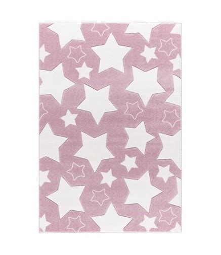 tappeti per cameretta bimba tappeto cameretta bimba rosa a stelle bianche la