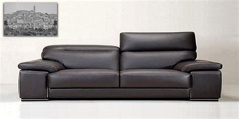 italian leather sofa by calia maddalena