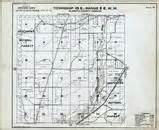 oregon township and range map klamath county 1961 oregon historical atlas