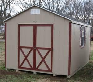 10x10 a frame wood shed kit