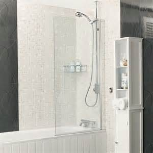bath screens and shower screens roman showers aqualux over bath shower screen 5mm glass