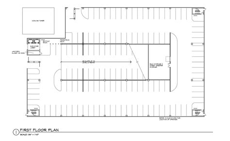 parking lot floor plan fulton parking garage
