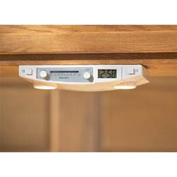 Under Cabinet Kitchen Radios Audiosonic Under Cabinet Radio Light 93982 At