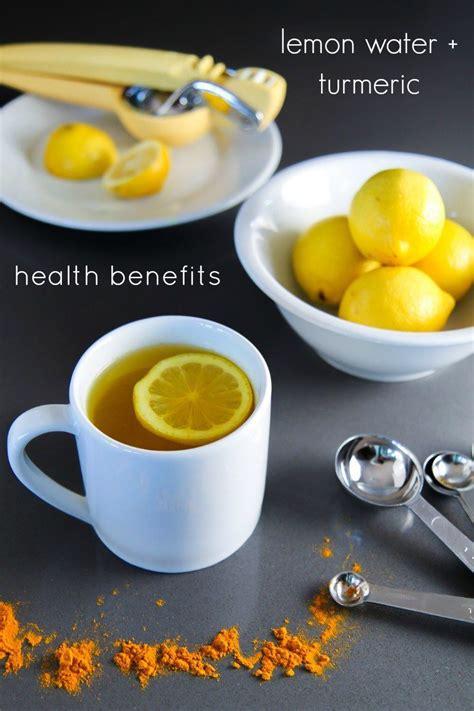 Lemon Turmeric Detox Drink by Daily Detox Why Drink Warm Lemon Water With Turmeric
