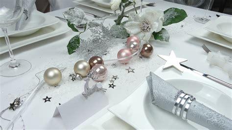 tisch weihnachtsdeko weihnachtsdeko mit klammer silber oder gold