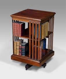 Country Style Bookcase Antique Revolving Bookcase Rotating Bookcase Antiques Uk