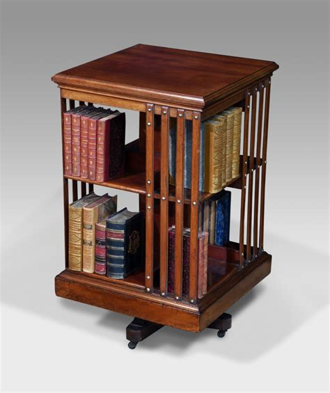 antique revolving bookcase rotating bookcase bookcases