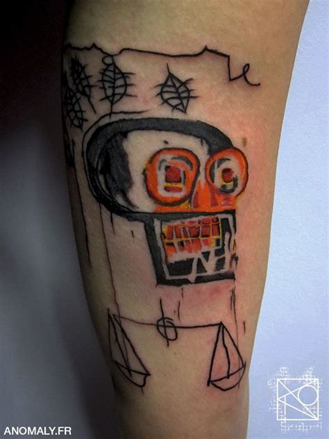 basquiat tattoo 17 best images on jean basquiat basquiat