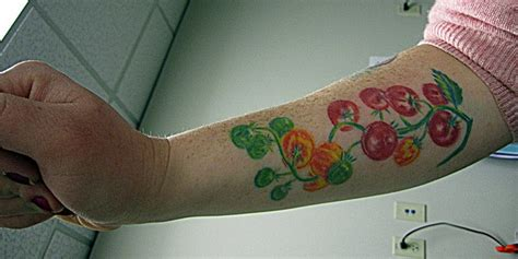 tomato tattoo cherry tomato tattooine