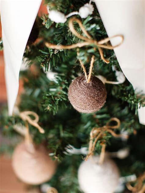 christmas kids craft yarn ball ornaments hgtv