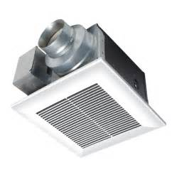 panasonic bathroom exhaust fans with light shop panasonic 0 3 sones 110 cfm white bathroom fan energy