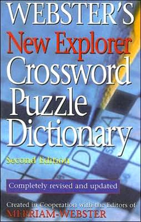 webster s new world crossword puzzle dictionary 2nd ed books webster s new explorer crossword puzzle dictionary 2nd